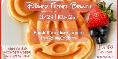 Disney themed brunch