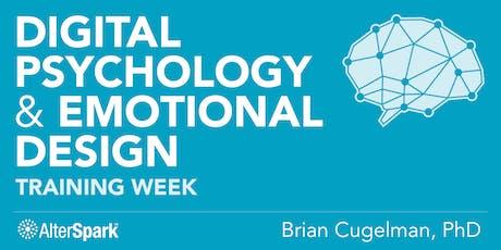 Digital Psychology & Emotional Design - Training Week (Vancouver) tickets