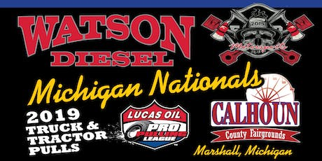 2019 Watson Diesel Michigan Nationals tickets