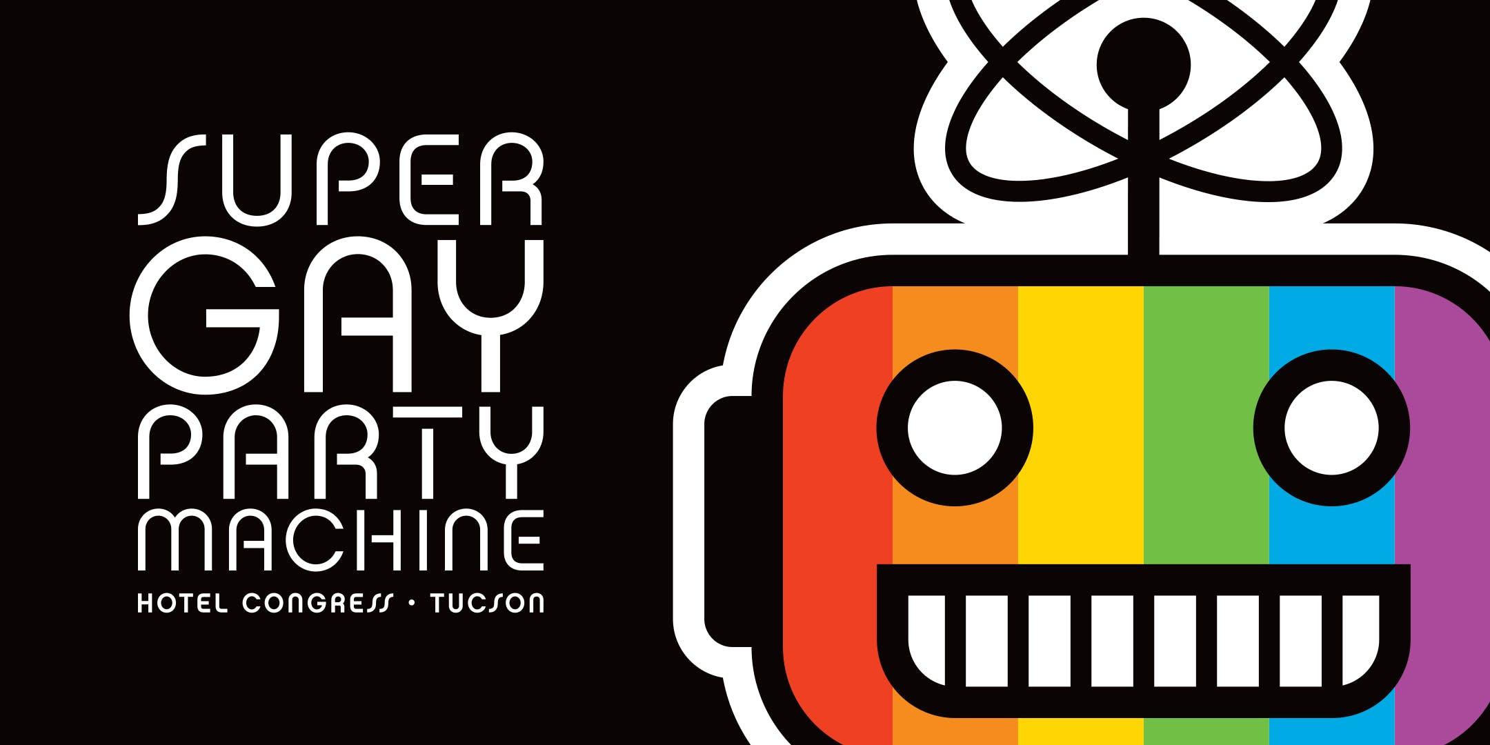Super Gay Party Machine banner