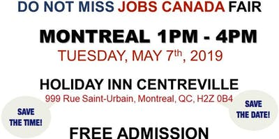 Montreal Job Fair – May 7th, 2019