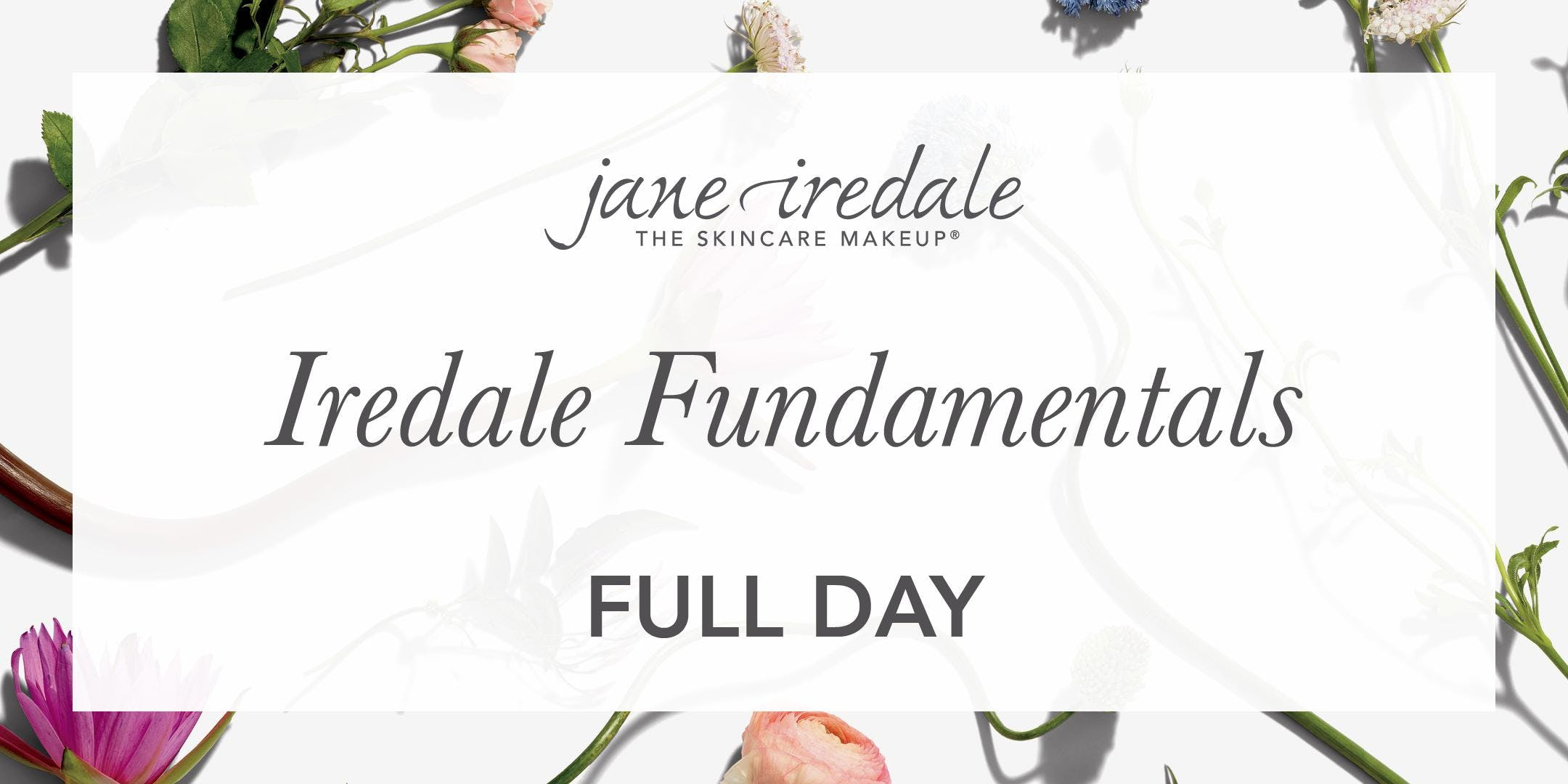 SA jane iredale Education : Iredale Fundament