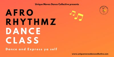 Afro Rhythmz: Adult Dance Class
