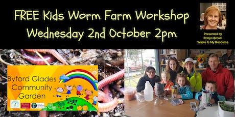 Make a Worm Farm in a Bottle - Free Kids Activity tickets