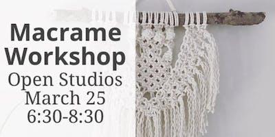 Macrame Workshop- Open Studios