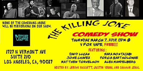 The Killing Joke Comedy Show tickets