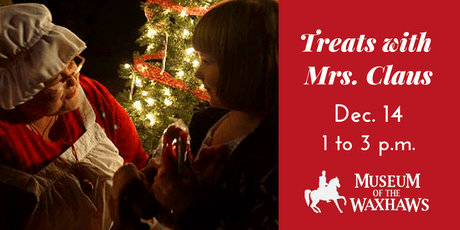 Treats with Santa & Mrs Claus at The Museum of the Waxhaws tickets