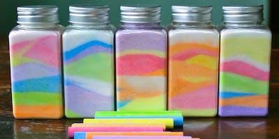 Rainbow Jars @ Moss Vale Library