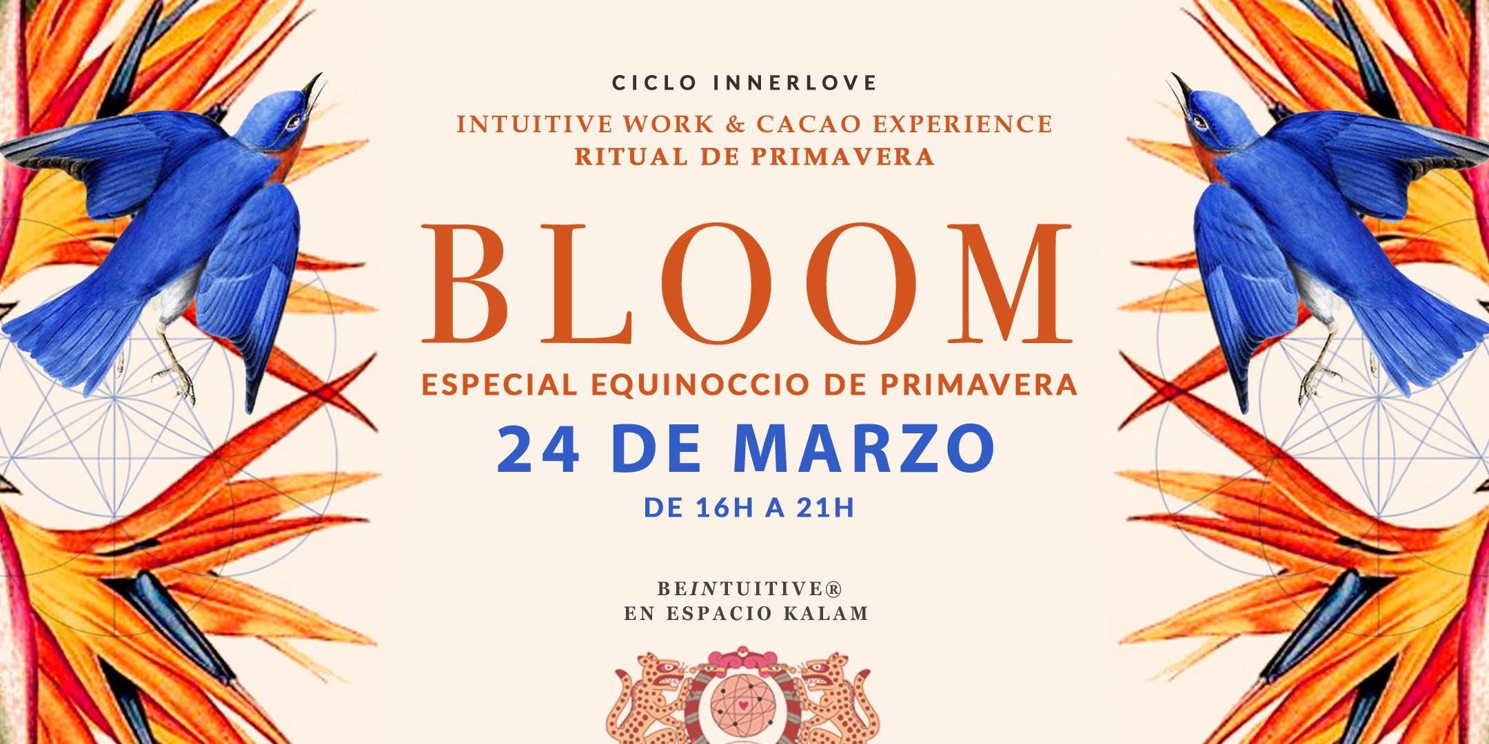 BLOOM WORKSHOP: Impulso, Intuición y Propósit
