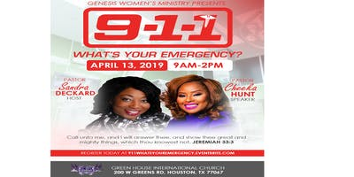2019 Genesis Women Conference-911! What's Your Emergency?