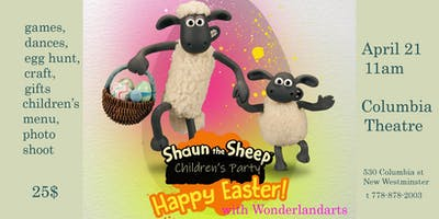 Easter with Shaun the Sheep