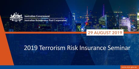 ARPC 2019 Terrorism Risk Insurance Seminar tickets