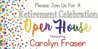 Carolyn Fraser's Retirement Celebration