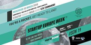Startup Europe Week Rome 2019