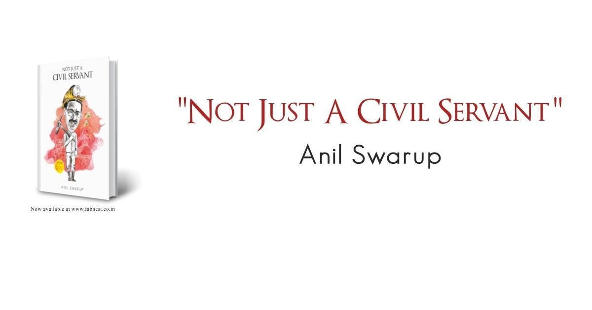 Book Launch: Not Just A Civil Servant by Anil