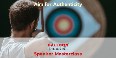 Balloon Principle Speaker Masterclass - Sydney NSW