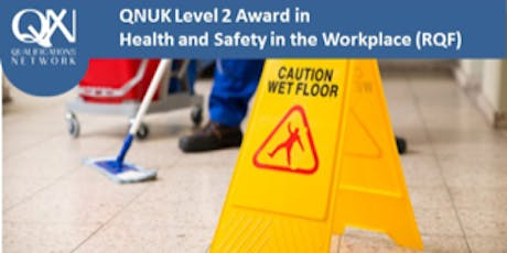 Level 2 Award in Health and Safety in the Workplace (RQF) tickets