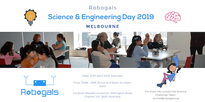 Melbourne Science and Engineering Day [April 2019]