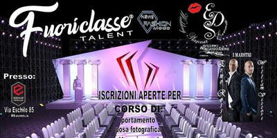 Iscrizioni aperte per corso di portamento by  Eds WP Eventi Italian Luxury Brand