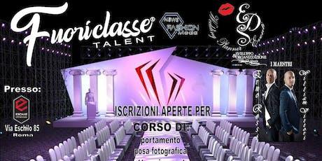 Iscrizioni aperte per corso di portamento by  Eds WP Eventi Italian Luxury Brand  biglietti