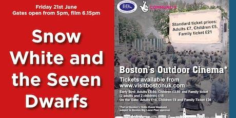 Snow White and the Seven Dwarfs - Boston's Outdoor Cinema tickets
