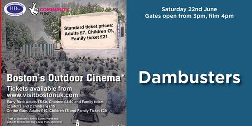 Dambusters - Boston's Outdoor Cinema
