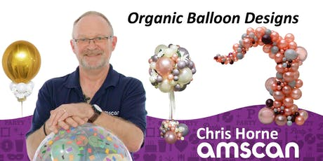 Organic Balloon Designs with Chris Horne - July tickets
