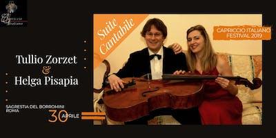 """""""Suite Cantabile"""": Tullio Zorzet & Helga Pisapia"""