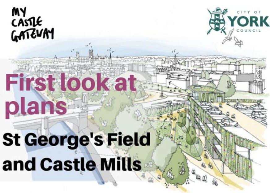 St George's Field Car Park, Castle Mills Apar