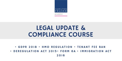 Legal update & compliance course (JUNE) - Hamilton Fraser Academy