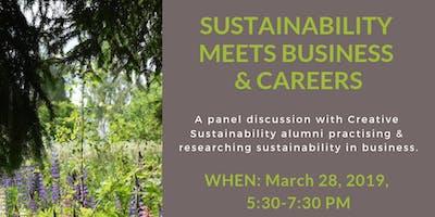 CS Alumni Talks - Sustainability Meets Business