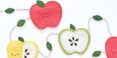 Coffee, Cake and Craft - Autumnal Apple Garlands