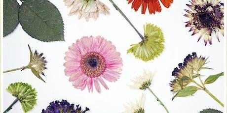 Children's Flower Pressing Workshop at Le Moulin de Quetivel tickets