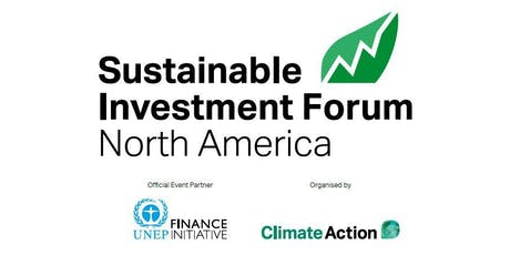 Sustainable Investment Forum 2019 - North America (non VAT) tickets