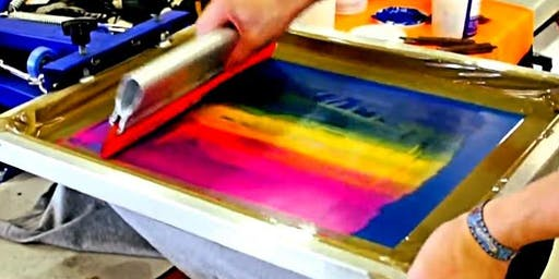 Screen Printing on fabric or T-shirts with Alleyne