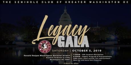 DC Noles Legacy Gala tickets