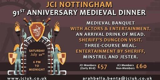 JCI Nottingham 91st Anniversary Medieval Banquet