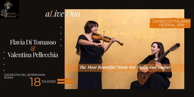 """The Most Beautiful Music for Violin and Guitar"" – aLive DUO"