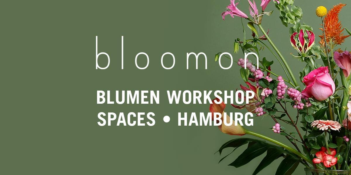 bloomon Workshop 05. April | Hamburg, Spaces