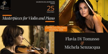 """""""Masterpieces for Violin and Piano"""" tickets"""