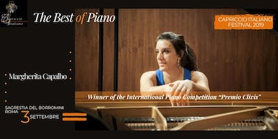 """THE BEST OF PIANO"" - Winner of the International Piano Competition ""Premio Clivis"""
