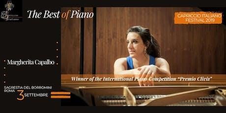"""""""THE BEST OF PIANO"""" - Winner of the International Piano Competition """"Premio Clivis"""" biglietti"""