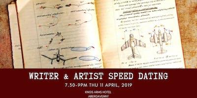 Writer & artist speed dating session (artist ticket)