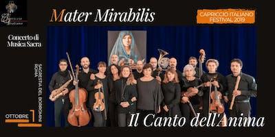 """""""MATER MIRABILIS: Il Canto dell'Anima"""""""