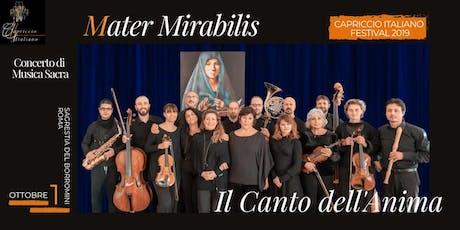 """""""MATER MIRABILIS: Il Canto dell'Anima"""" biglietti"""