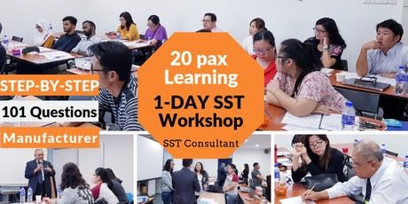 SST Training Malaysia 2019 [KL Event][HRDF Claimable Workshop] tickets