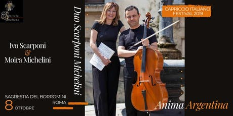 """ANIMA ARGENTINA"" - DUO SCARPONI MICHELIN tickets"