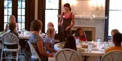 CASWELL HOUSE ETIQUETTE CLASS SUMMER 2019 (6:00pm session is **SOLD OUT**)