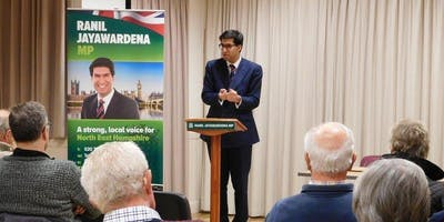 Tell Ranil in Eversley