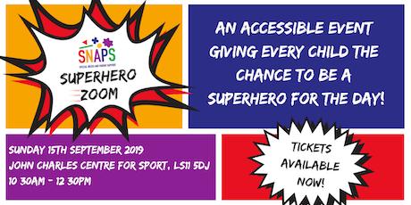 SNAPS Superhero Zoom tickets